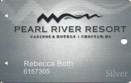 Pearl River Resort Casinos Choctaw, MS Slot Card - No Text Over Mag Stripe - Casinokarten