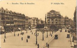 BRUXELLES - Place De Brouckère - Boulevard Adolphe Max - Old Cars - Bruxelles (Città)