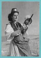 GRECIA GREEK CORFU LYCOURSI GARITSA COSTUME DE PAYSANNE N°C190 - Grecia