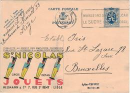 Publibel Nr. ? - St. Nicolas Zinnsoldaten - Neumann & Cie Liege - Liege 1935 Sucre - Publibels