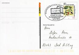 12823) BRD -  ✉ PSo 77 II Codiert, So-⨀ 45131 Essen 119 Vom 04.04.02 - Ausgabe Von Neuen Automatenmarken - Cartoline - Usati