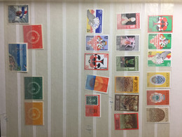 NED ANTILLES  : SELECTION OF STAMPS   MNH   LOT 13 (last 2 Rows MH) - Curacao, Netherlands Antilles, Aruba
