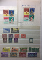 NED ANTILLES  : SELECTION OF STAMPS     LOT 14 - Curacao, Netherlands Antilles, Aruba