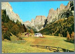 °°° Cartolina - Dolomiti Primiero Malga Canali Con Il Gruppo Canali Viaggiata (l) °°° - Trento