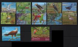Solomon Islands 2001 Birds Fauna Set MNH - Otros