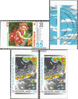 Netherlands 1379C,1380D,1381D,e (complete Issue) Unmounted Mint / Never Hinged 1990 That Weather - Unused Stamps