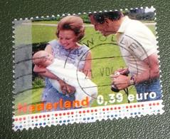 Nederland - NVPH - Xxxx - 2003 - Gebruikt - Cancelled - Beatrix En Claus Met Pasgeboren Willem-Alexander - Used Stamps