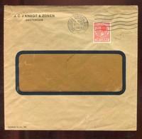 """Niederlande / 1925 / """"Firmenlochung/Perfin"""", Brief Ex Knegt U. Zonen Amsterdam (3274) - Covers & Documents"""