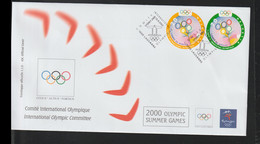 Suisse Comite International Olympique FDC 2000 Sydney Olympic Games (LD41) - Summer 2000: Sydney