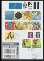 Great Britain Specialdelivery FDC 2012 Olympic Games - Plenty Of Olympic Stamps + SmartStamp Posted Coventry - Summer 2012: London