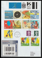 Great Britain Specialdelivery FDC 2012 Olympic Games - Plenty Of Olympic Stamps + SmartStamp Posted City Of - Summer 2012: London