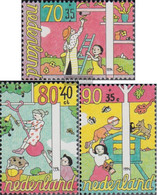 Netherlands 1525C-1527C (complete Issue) Unmounted Mint / Never Hinged 1994 For The Children - Unused Stamps