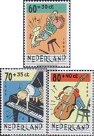 Netherlands 1451II C-1453II C (complete Issue) Unmounted Mint / Never Hinged 1992 That Child And The Music - Unused Stamps