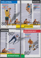Netherlands 1429-1432 (complete Issue) Unmounted Mint / Never Hinged 1992 Olympics Games - Unused Stamps
