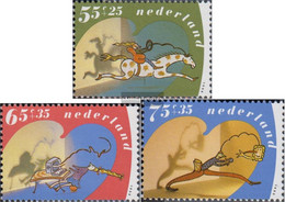 Netherlands 1392C-1394C (complete Issue) Unmounted Mint / Never Hinged 1990 For The Children - Unused Stamps