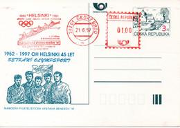 Czech Republic (97-04) Olympic Games 1952 Czech Gold Medal Rowing - Postcard - Summer 1952: Helsinki
