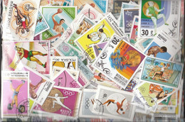 Motives Stamps-500 Different Summer Olympics Stamps - Other