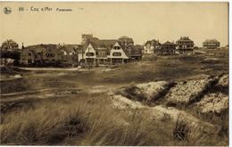 Coq S/Mer Panorama Circulée En 1931 - De Haan