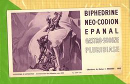 BUVARD & Pharmacie : BIPHEDRINE NEO CODION EPANAL  Alpinisme Ascencion Dans Les Dolomies  Laboratoire Bouchara Vers 1900 - Chemist's