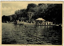 Lac De Virelles Les Bateaux à Moteur Circulée En 1953 - Chimay