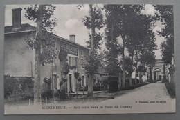 01 MEXIMIEUX Joli Coin Vers Le Pont De Chazey, Café Lothe - Altri Comuni