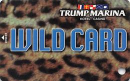 Trump Marina Casino Atlantic City NJ Slot Card  (BLANK With *sm For Copyright) - Casinokarten