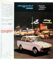 Publicité Papier VOITURE DAF DAFFODIL Mars 1965 P1030253 - Werbung