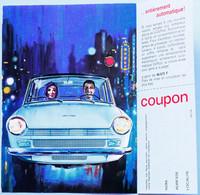 Publicité Papier Voiture Daf Daffodil Mars 1966 P1012286 - Werbung