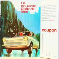 Publicité Papier Voiture Daf Daffodil Novembre 1965  P1013061 - Werbung
