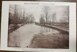 C. P. A. : 17 Environs De TAILLEBOURG : La Crue De La Charente, Animé - Andere Gemeenten