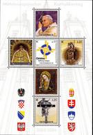 AUSTRIAN, O'STERREICH - BLOCK SHEET - POPE JOHN PAUL II MINT NOT HINGED SOUVENIR 2.28 - Papes