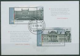 Bund 2009 Bundestag Bundesrat Reichstag Block 76 Gestempelt (C98925) - Bloques