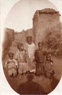 Photographie Anonyme Vintage Snapshot Afrique Enfants - Africa
