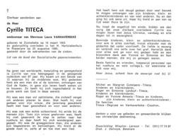 Cyrille Titeca (1903-1990) - Devotion Images