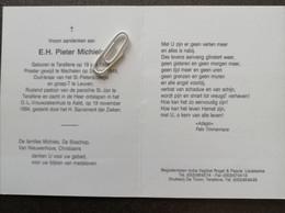 E.H. PIETER MICHIELS ° TERALFENE 1924 + AALST 1994 / OUD LERAAR ST. PIETERSCOLLEGE LEUVEN - Devotion Images