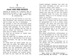 Jozef Van Den Bosch (1931-1992) - Devotion Images