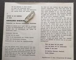 GERARD DIERINCK ° LOKEREN 1905 + GENT 1978 / CLEMENTINA PLAETINCK - Devotion Images