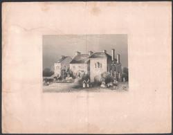 William Colley Wrankmore (1836-1858): Gretna Green, Metszet, Foltos, Szélein Szakadások, Hajtott, 13×16 Cm - Gravados