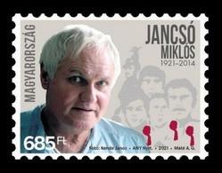 Hungary 2021 Mih. 6191 Cinema. Film Director Miklós Jancsó MNH ** - Nuovi