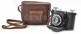 Cca 1935 Certo Dollina összecsukható Fényképezőgép, F. Deckel Compur 300 Zárral, Steinheil Cassar 50 Mm F/2,9 Lencsével, - Fotoapparate