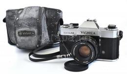 Yashica Electro AX Kamera, Yashinon DS 50 Mm, 1: 1,17 Objektívvel. Jó állapotban, Megviselt Tokkal. - Fotoapparate