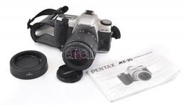 Pentax MZ-30 Analóg Fényképezőgép, Tamron Aspherical 28-80mm, F: 1:3,5-5,6 Objektívvel, Jó állapotban, Hozzá Leírás és N - Fotoapparate