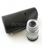 Ernst Leitz Wetzlar Elmar 1:4. F:9 Cm Objektív Leica Kamerához Bőr Tokkal - Fotoapparate
