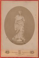 Photo Foto - Formato CDV - Statua Di Madonna - Years '1870 - Clemente Mazzoni, Faenza - Alte (vor 1900)
