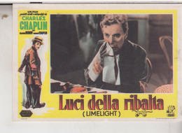ATTORI CINEMA  ACTRESS LUCI DELLA RIBALTA  CHARLES CHAPLIN - Actors