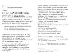 Georges Vandenbroucke (1924-1991) - Devotion Images