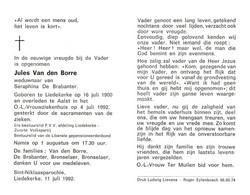 Jules Van Den Borre (1900-1992) - Devotion Images