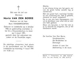 Maria Van Den Borre (1906-1991) - Devotion Images