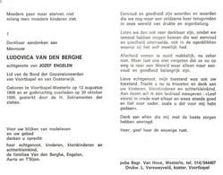 Ludovica Van Den Berghe (1909-1989) - Devotion Images