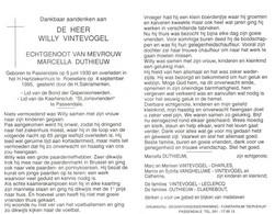Willy Vintevogel (1930-1995) - Devotion Images